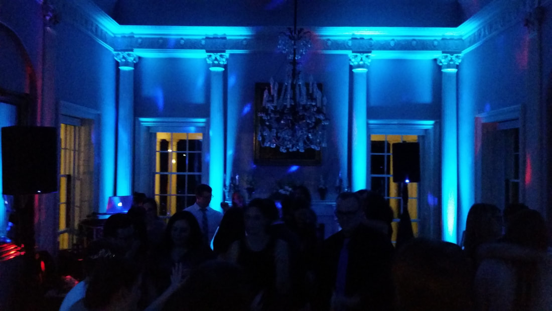 Lyman Estate Up Lighting Valley DJ Service